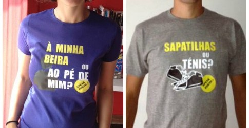 T-shirts Speak Porto